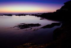Calm Sunrise (Jay TZ) Tags: ocean longexposure sea water sunrise xt dawn bay sydney australia fujifilm xt1 fujixt1
