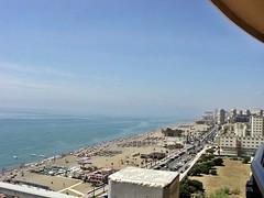 Vista playa Torremolinos