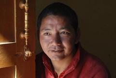 Welcoming Monk, HP, India (zerostress) Tags: people india viaggi viaggio spiti