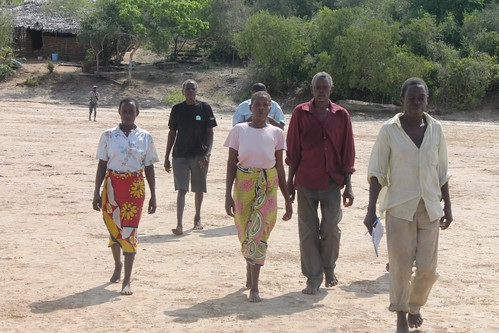 Ihareni Group walk