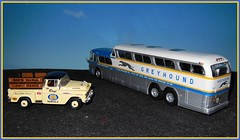 Autocar GREYHOUND Super Scenicruiser (1/43) 1961 (xavnco2) Tags: greyhound france bus coach models collection pullman busses 143 diecast autocar presse ixo hachette modèlesréduits scenicruiser