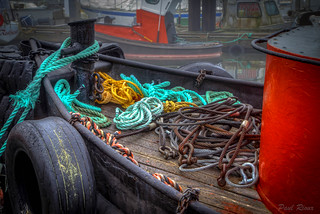 Tools of the tug trade......