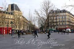 Place de la Rpublique | PARIS | January 25, 2015 (Elisabeth de Ru) Tags: paris france geotagged skaters parijs placedelarpublique parys  parisi   pariz  stateboard  weekend2325january2015 elisabethderu|2015 avenuedelarpublique|paris11e camerasony300 elisabethderu