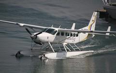 Seawing's Cessna C208B Grand Caravan @ Jebel Ali (stecker.rene) Tags: sea uae seaplane cessna floats taxiing vae jebelali cessna208 c208b grandcaravan seawings a6sec