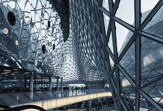 The Mall (basair) Tags: glass architecture modern mall shopping germany studio hall hessen frankfurt lounge business departmentstore fuksas myzeil