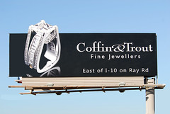 Coffin & Trout Fine Jewellers billboard - Santan Freeway Loop 202, Chandler, AZ (azbillboard) Tags: arizona phoenix diamonds advertising design necklace ray traffic watches watch az jewelry pearls billboard ring diamond 101 rings freeway billboards gilbert ooh scottsdale earrings ruby i10 weddingring chandler emerald mesa rolex 202 tempe ahwatukee emeralds jeweler santan appraisal maricopa rubies jeweller jewellers jewelers gemologist shoppes gemology outofhome loop101 outdooradvertising loop202 enagagementring customdesign 85226 casapaloma rayroad onsiteinsite santanfreeway pricefreeway azbillboard coffintrout randycoffin finejewellers davetrout