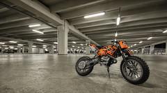 Motorbike (Gikon) Tags: longexposure closeup lights nikon colorful dof lego pov details motorbike technic motorcycle deptoffield sigma1020 d7100 gikon