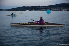 Large Luminary flotilla Louis with Tesoro Refinery in background at Break Free PNW 2016 photo by Alex Garland img_1855 (Backbone Campaign) Tags: water justice washington energy kayak break action politics protest creative paddle shell free social demonstration oil change wa environment activism anacortes campaign pnw refinery climatechange climate tesoro artful backbone renewable refineries 2016 kayaktivist kayaktivism breakfreepnw