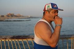 Boricua (dtanist) Tags: new york city nyc newyorkcity sea newyork beach brooklyn zeiss puerto island pier fishing fisherman sony rico contax shore carl boardwalk coney a7 45mm rican boricua planar steeplechase carlzeiss
