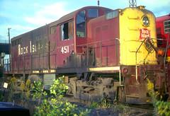 Rock Island RS2m 451 (Chuck Zeiler) Tags: railroad rock island 451 locomotive crip alco chz emd rs2m