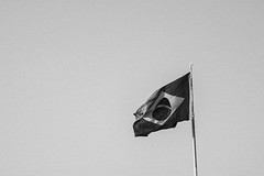Dark times (regularjonn) Tags: white black bandeira brasil nikon nation pb flags minimalismo pretoebranco d5200