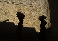 Shadow of two women carrying stuff on their heads on a wall of the old city, Harari region, Harar, Ethiopia (Eric Lafforgue) Tags: africa street shadow people color silhouette horizontal architecture outdoors photography ancient women day islam sunny unescoworldheritagesite ethiopia oldtown 2people twopeople developingcountry hornofafrica harrar eastafrica thiopien holycity harar etiopia abyssinia ethiopie etiopa famousplace ruralscene harari oromo  traveldestination etiopija ethiopi harer  etiopien etipia  etiyopya  builtstructure    harariregion      hararjugol harergeprovince harergey ethio162978
