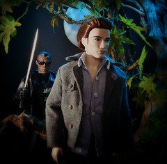 Twilight: The Final Chapter (MiskatonicNick) Tags: twilight vampire barbie edward 16 blade marvel playscale