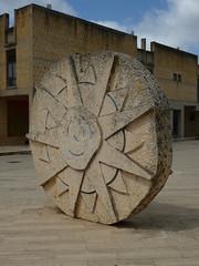 Mimmo Rotella, Omaggio a Tommaso Campanella, 1984 (sangiovese) Tags: sicilia mimmo sizilien rotella gibellina