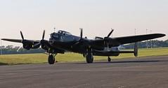 PA474 AVRO LANCASTER BBMF NEWCASTLE AIRPORT 2014 (toowoomba surfer) Tags: aircraft aviation wwii aeroplane bomber warbird