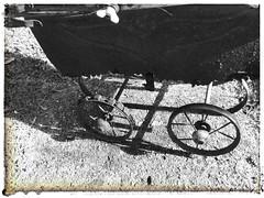 Cyclops (YAZMDG (15,000 images)) Tags: toy rust carriage rusty cyclops crusty pram perambulator babycarriage