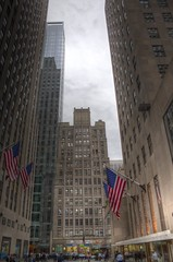 Rockefeller Centre, 5th Ave, Manhattan , New York City (HDR) (Ardintigh) Tags: rockefellercentre manhattan newyorkcity artdeco comcastbuilding radiocitymusichall johndrockefellerjr 1930s rockefellerplaza 5thavenue raymondhood josepmariasert americanprogress isamunoguchi skyscraper