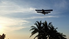 Cuban pest control. Mosquito spraying. (CWhatPhotos) Tags: pictures sky sun holiday hot water june digital that island four photography day skies foto image artistic time pics cuba sunny pic olympus images clear have photographs coco photograph fotos cuban which contain cayo hols 2016 hirds cwhatphotos