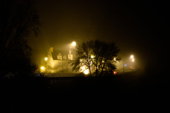 DSCF9865-2 (kuzdra) Tags: fog night nuit brouillard angers
