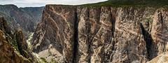 Black Canyon of the Gunnison (leandrews2) Tags: cliff rock nikon canyon gunnison schist precambrian pegmatite gneiss d300s