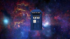 The Tardis (ledzepfx) Tags: art lego who space doctor tardis backround