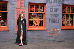 Shopping Diagon Alley (JasonCameron) Tags: world england cute london girl shop fun alley play florida wizard robe wand magic harry potter universal studios jk rowling weasley diagon wizarding