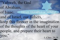 Israel example of honest (Jouni Niirola) Tags: israel god isaac abraham honest example yahweh