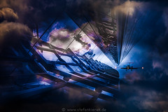 A stop in space (radonracer) Tags: color clouds surreal motionblur fantasy digiart