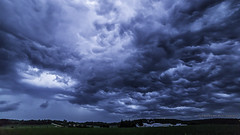Rolling! (UH82NVMy Photography) Tags: storm clouds dark timelapse time cloudscape rolling lapse chaser