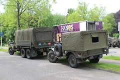 Army trucks in the village (G.M.C. CCKW 353 and Dodge WC 52) (Davydutchy) Tags: netherlands truck army ride military may nederland hobby voiture lorry vehicle frise rit heer convoy paysbas gmc friesland armee leger niederlande 353 militr reenacting lkw 2016 frysln militair frisia rondrit langweer tocht langwar kolonne cckw cckw353 poidslourd legervoertuig legergroen