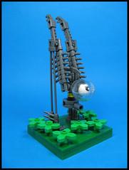 Spindlestrike (Karf Oohlu) Tags: terrain lego walker eyeball longlegs moc microscale