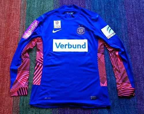 FK Austria Wien bench worn shirt 2011/12 Ivan Kardum