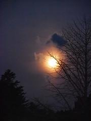 How high the moon - Explore #484 (M_Strasser) Tags: moon japan night mond nacht olympus explore koyasan nachtaufnahme explored olympusomdem1