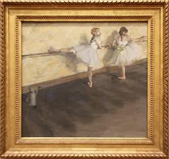 Edgar Degas - Dancers Practicing at the Barre 1877 (ahisgett) Tags: new york art museum met metropolitian