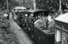 """Cyd ymarferiad  Gwasanaeth Tn a Ambiwlans  Gwynedd ,a Rheilffordd Ffestiniog """"Operation Abergele Bach"""" Mehfin 22 1976. Joint Gwynedd Fire, Ambulance service & Ffestiniog Railway """"Operation Abergele Bach """" June 22 1976 (Martin Pritchard) Tags: wales fire exercise north railway ambulance service ffestiniog gwynedd porthmadog"""