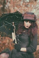 Shoot with MUAH Shirley (Donna Da Yettta - @work & study) Tags: umbrella corset