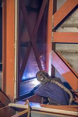 Lasser (G. Warrink) Tags: architecture construction industrial steel welding engineering watchtower appelscha bosberg heuvelmanibis