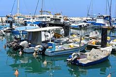 Jaffa Harbour   2/5 (Pantchoa) Tags: jaffa port isral moyenorient telaviv nikon d7100 1685 barques bateaux eau bleu extrieur cte mditerrane rivage littoral pantchoa franoisdenodrest