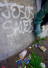 Jesus Saves (alwaysanalias) Tags: jesus jesussaves graffiti spray paint aerosol art artist tags vandalism nyc brooklyn subway urban decay handstyle religion christianity city citylife
