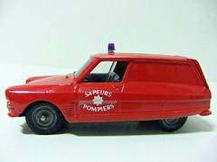 """CITRON AMI 6 """"POMPIERS"""" - VEREM (RMJ68) Tags: citroen ami 6 break pompiers verem solido fire bomberos diecast coches cars juguete toy 143"""
