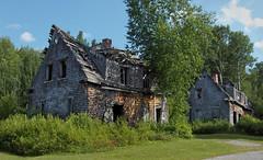 Val-Jalbert - ville fantme -  ghost town - despoblado (Jacques Sauv) Tags: canada les town ruins village ghost ruin lac qubec chambord et ville par stjean fantme valjalbert ruines abandonn touriste rgion maintenant despoblado adopt