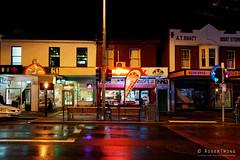 2016070401-North Hobart rain (Roger T Wong) Tags: rain night neon suburbia australia tasmania hobart 2016 northhobart sony2470 rogertwong sel2470z sonyfe2470mmf4zaosscarlzeissvariotessart sonya7ii sonyilce7m2 sonyalpha7ii