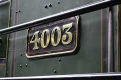 4000 (Star) Class 4003 Lode Star 17-06-2016 NRM.3 (routemaster2217) Tags: york train railway loco locomotive britishrail steamengine nrm nationalrailwaymuseum lodestar gwr steamlocomotive 460 britishrailways greatwesternrailway 4003 starclass 4000class