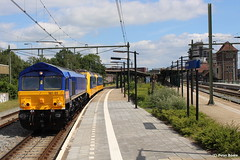 Beacon Rail + NSR 186023+024 in Deventer, 19-06-2016 (PeterBrabant) Tags: beacon deventer 56103 186024 186023