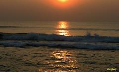 Good morning/ (iJoydeep) Tags: goodmorning sunrise vizag india sea bay bengal canon ijoydeep nature landscape
