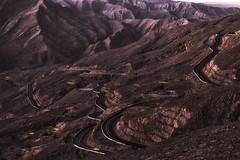 Mountain roads (mohdakhter) Tags: road mountain uae rak jais jabel