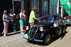 1937 Simca-Fiat Coupe tipo 500 (Davydutchy) Tags: auto classic netherlands car automobile tour ride fiat rally may nederland voiture bil vehicle oldtimer frise 500 rit paysbas coupe friesland niederlande simca tipo bolsward 2016 classico klassiker klassiek frysln pkw elfstedentocht frisia vetern tocht automobiel boalsert