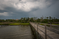 Storm rolling in (Tiff&Deke) Tags: boguesound dock storm boardwalk pier northcarolina emeraldisle coast clouds nc