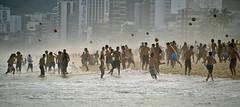 Spot the ball (Spectacle Photography) Tags: brazil rio brasil riodejaneiro football play soccer balls 12 praiadeipanema ipanema riosul beachfootball ipanemabeach beachfun corpuscristi ipenemabeach publicholidays 12balls twelveballs