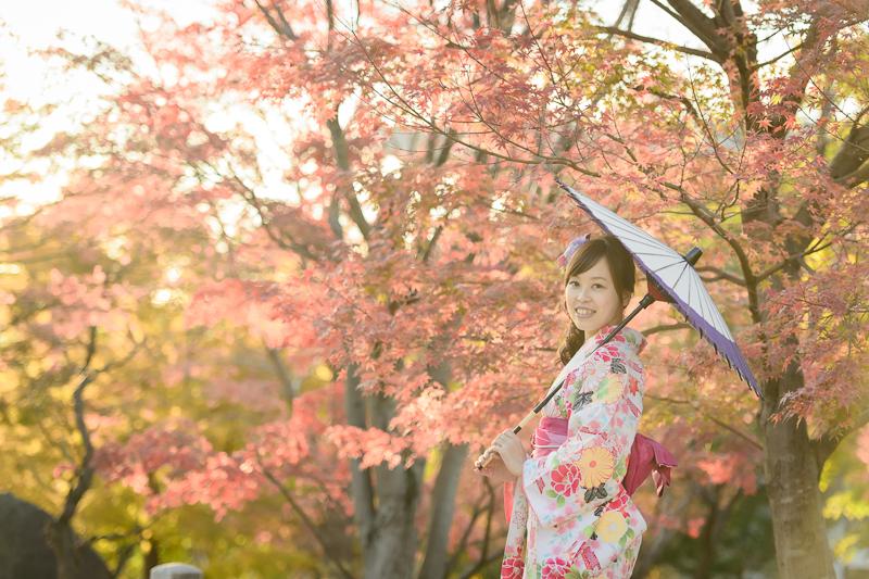 京都婚紗和服,日本婚紗,京都婚紗,京都楓葉婚紗,海外婚紗,和服拍攝,和服體驗,楓葉婚紗,DSC_0092